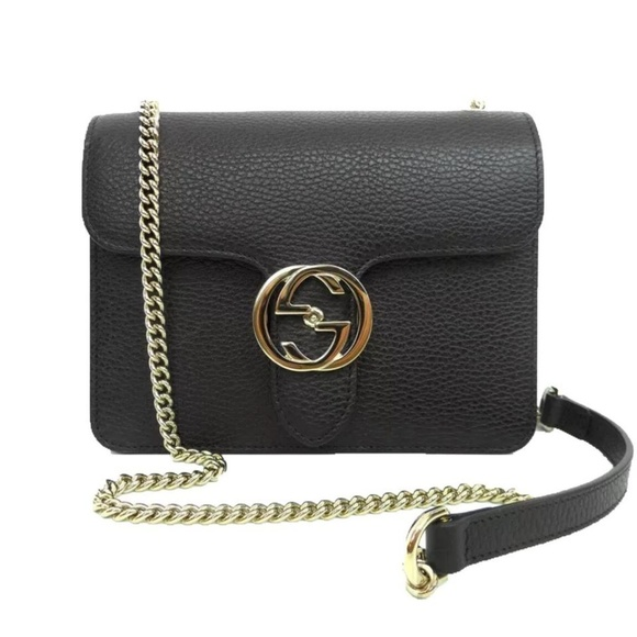 904311e0fa2 Gucci Icon Chain Wallet Crossbody